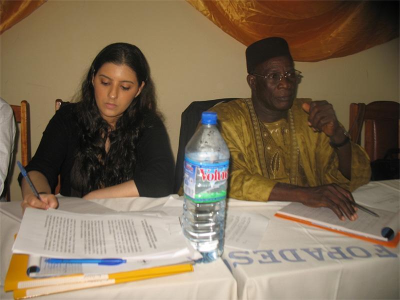 Frivillig på menneskerettighedsprojekt i Togo