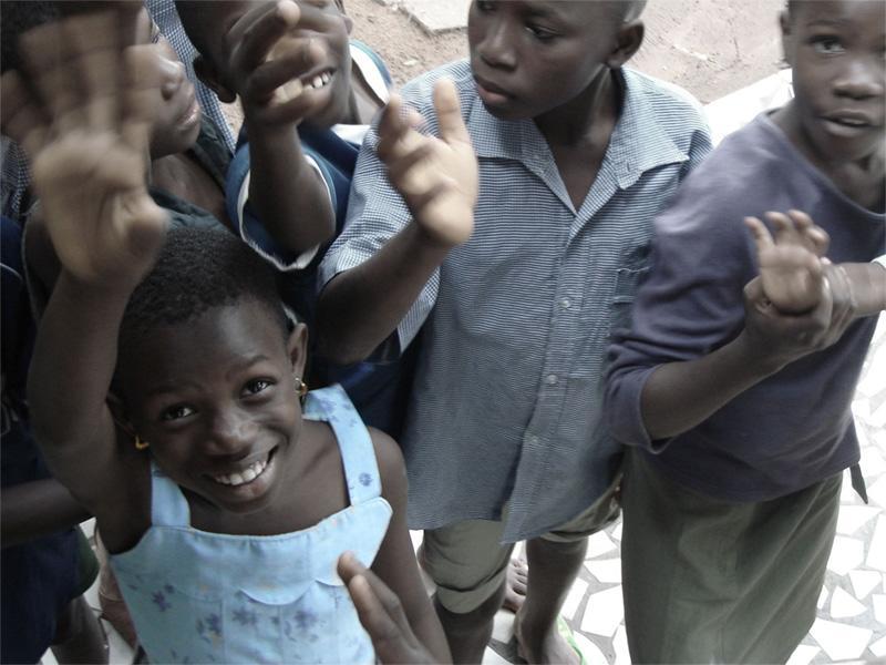 Børn i Togo