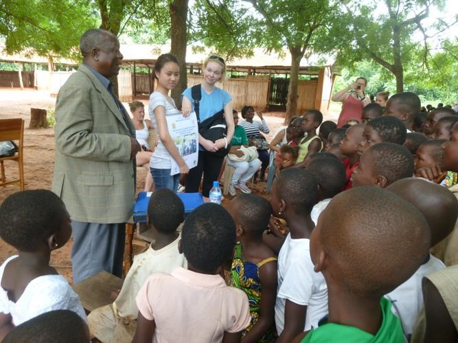 Ulandfrivillige afholder hygiejneworkshop i Togo