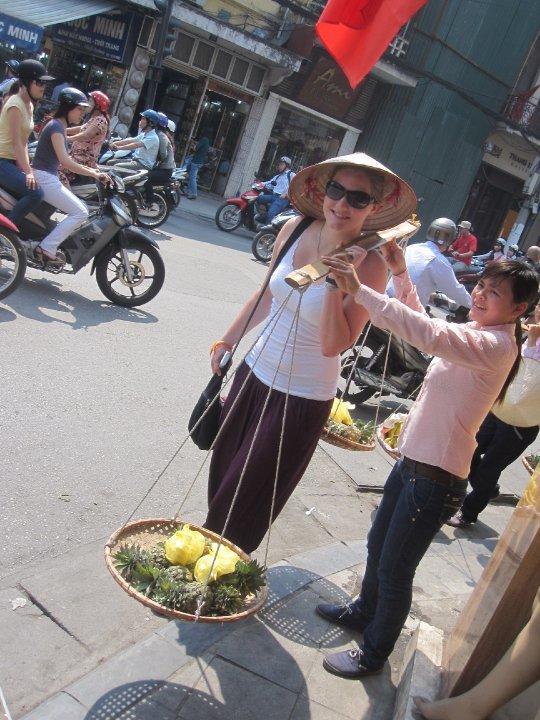 Frivillig på tur i Vietnam
