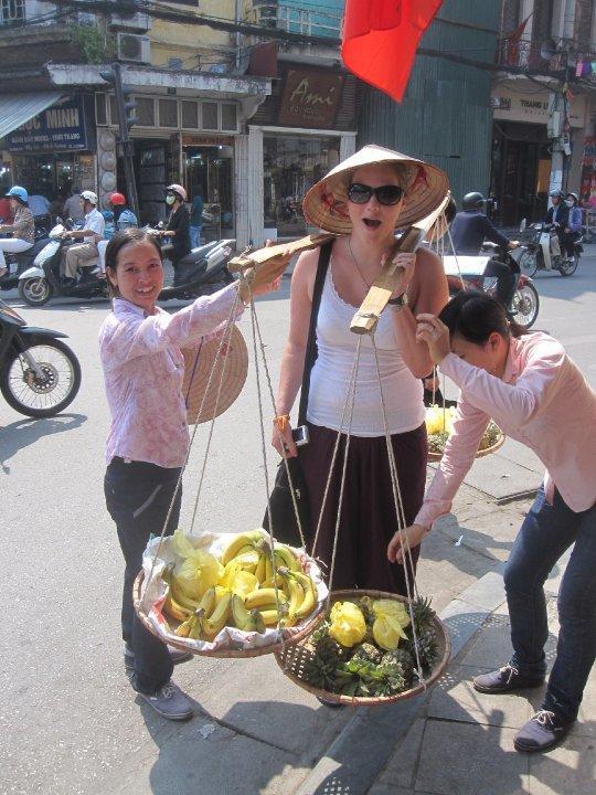 Frivillig bærer frugt på vietnamesisk vis
