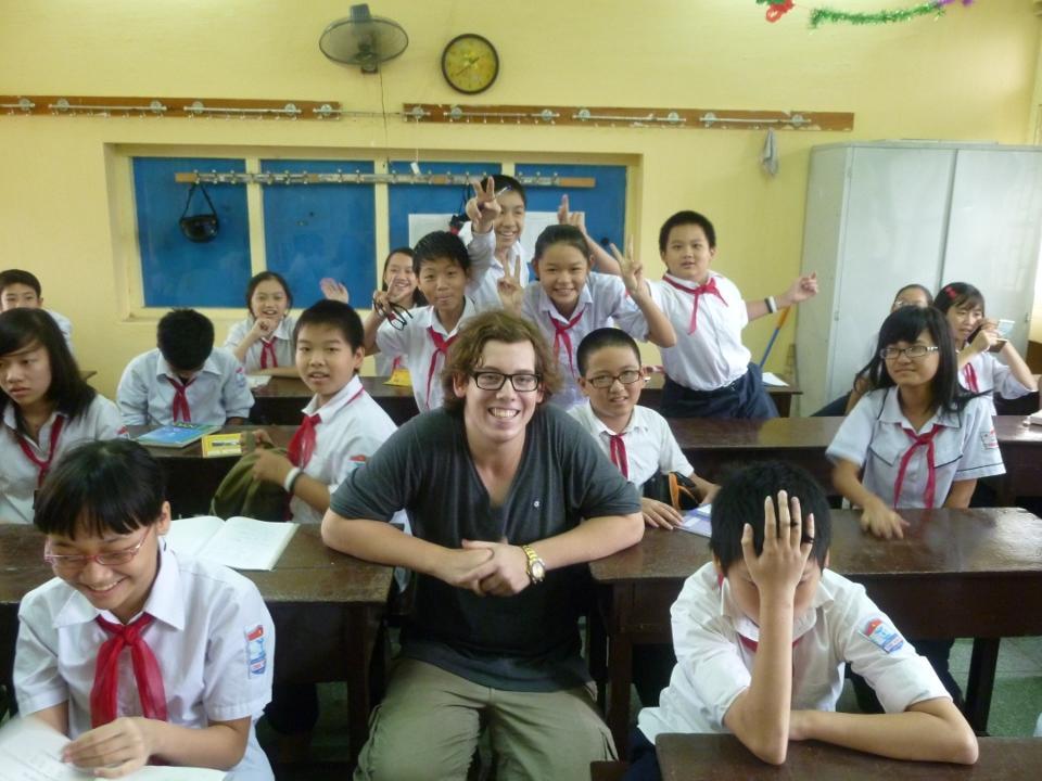 Frivillig lærer i Vietnam