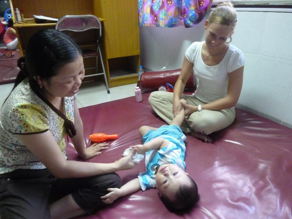 Fysioterapi i Vietnam