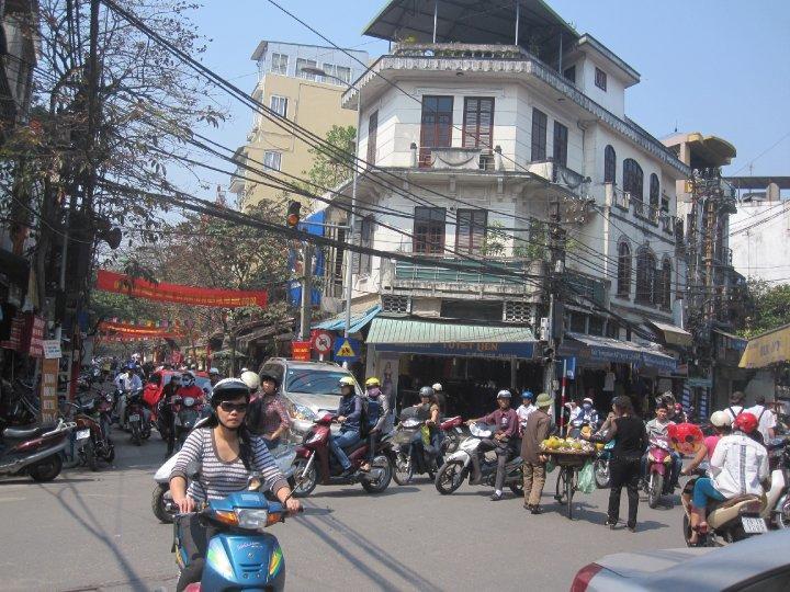 Gadebillede i Vietnam
