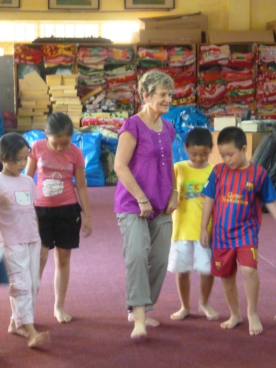 Ulandsfrivillig på fysioterapeutisk arbejde i Vietnam