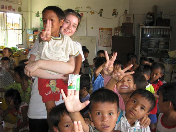 Volunteering with children