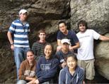 Volunteers traveling