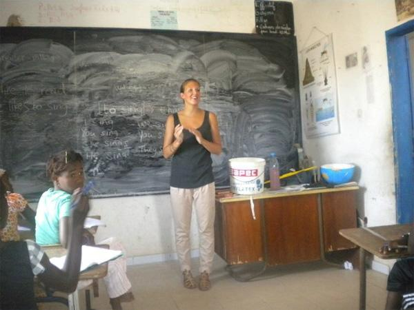 Teaching volunteer