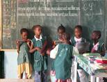 Young students in Senegal