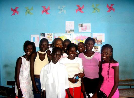 A volunteer class