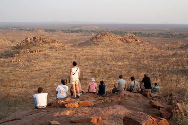 Volontaires sur une mission d'écovolontariat en Afrique du Sud