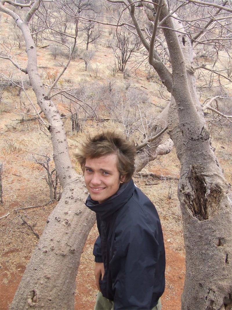 Volontaires sur le site d'écovolontariat en Afrique du Sud