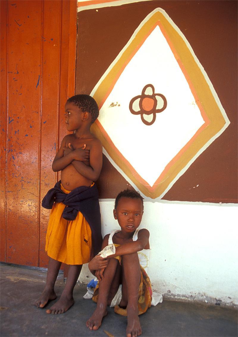 Enfants en Afrique du Sud