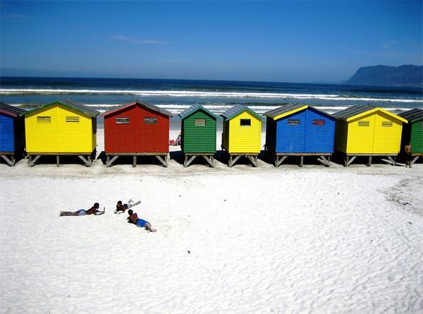 Plage Bu à Cape Town, en Afrique du Sud