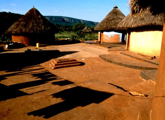 South Africa village