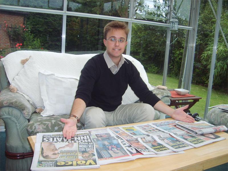 Stagiaire en journalisme à Cape Town, en Afrique du Sud