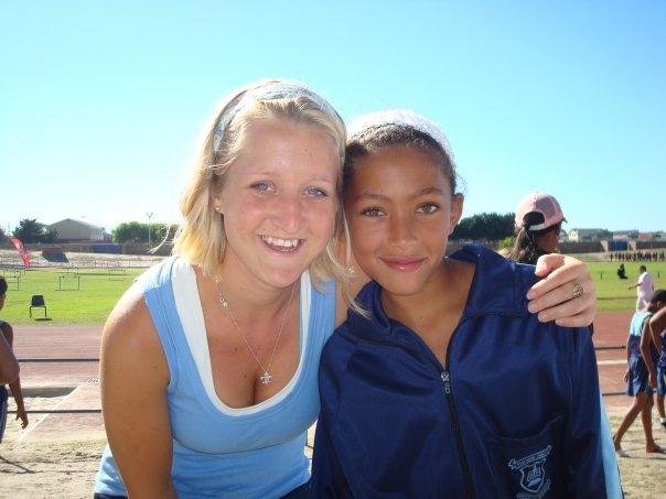 Volontaire sur une mission d'encadrement sportif en Afrique du Sud