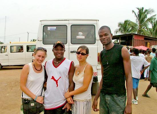 Volunteer with locals