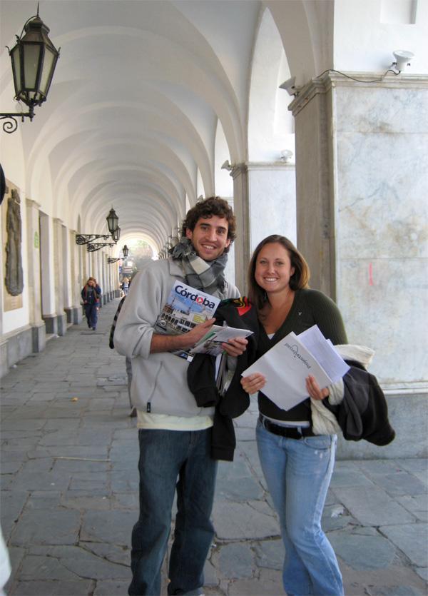 Volontaires à Cordoba