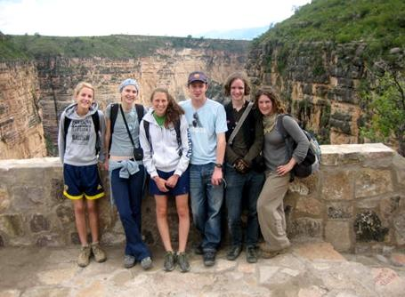 Groupe de volontaires en Bolivie