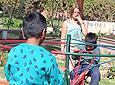 In carousel