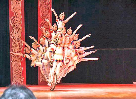 Acrobatic show Beijing