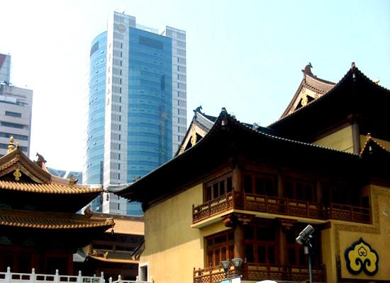 Old and new temple