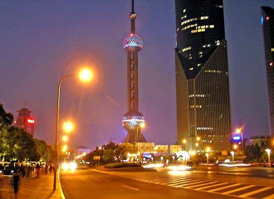 Pearl tower night view
