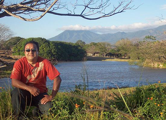 View of volcan Rincon de la Vieja