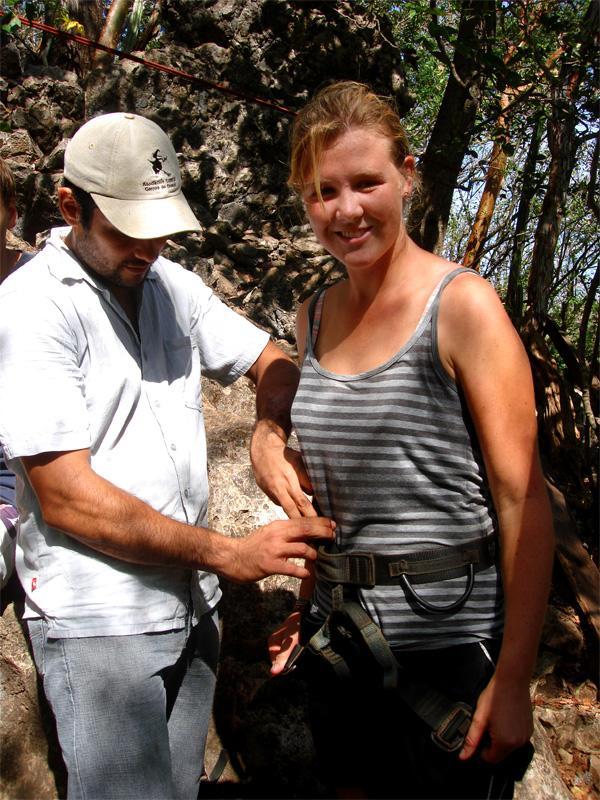 Volontaire sur une mission d'écovolontariat