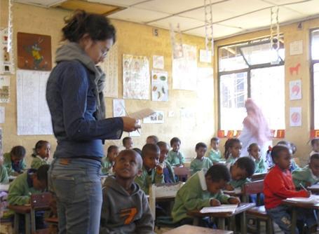 Mission d'enseignement à Addis
