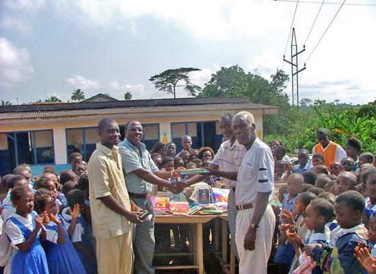 Awards the children
