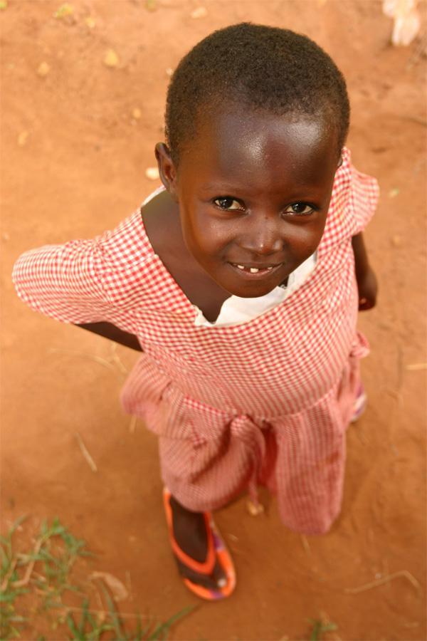 Enfant au Ghana