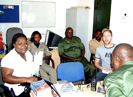 Meeting in Chri office