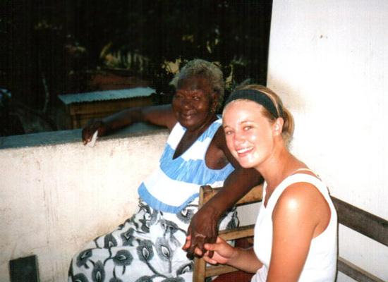 Volunteer and grandma Alice