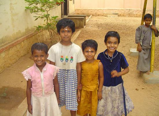 Children at Madurai Seva