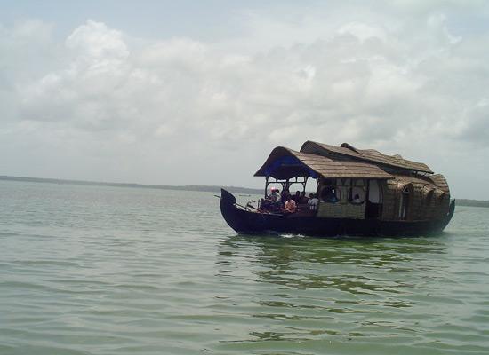 Keralan house boat