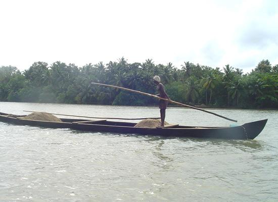 Local on boat travelling