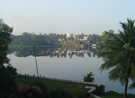 View from Yatri Nivas hoste