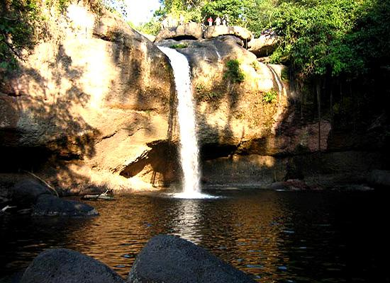 Waterfall at Khoa Yai