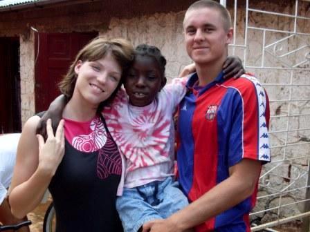Volontaires sur une mission humanitaire