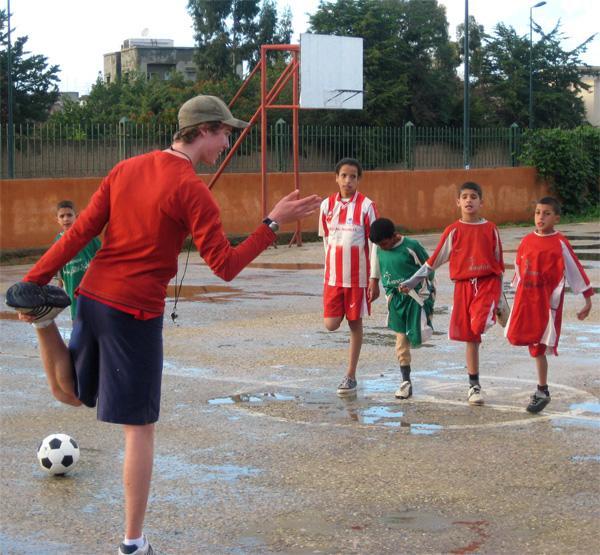 Mission d'encadrement sportif au Maroc