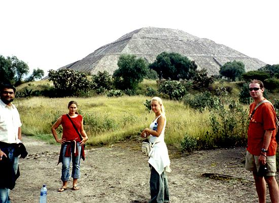 On a trip to Teotithuacan