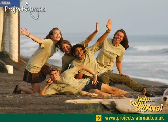 Volunteers turtle camp