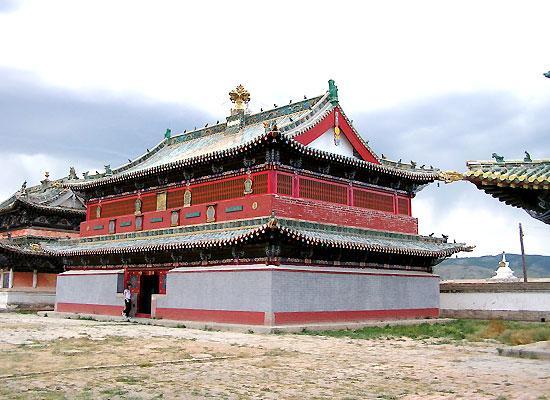 Kharkhorin temple
