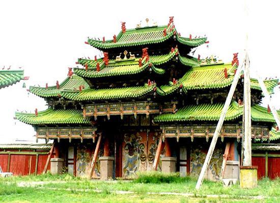 Monastery from mongolia