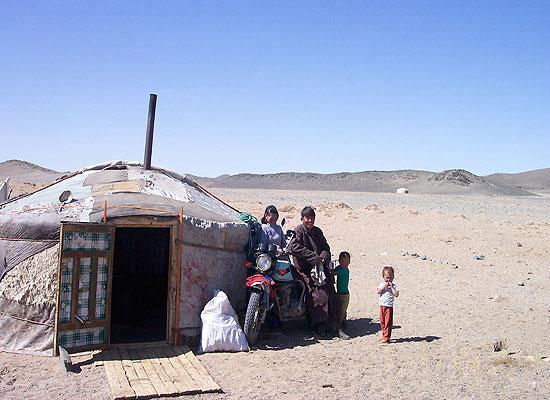 Mongolia nomad house