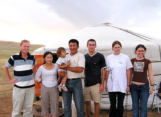 Mongolia volunteer group