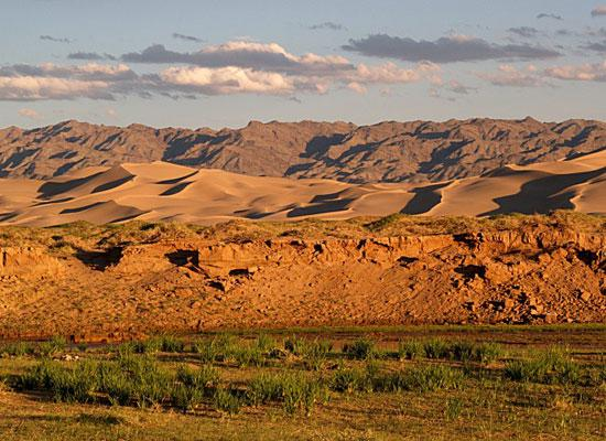 Mountains from mongolia