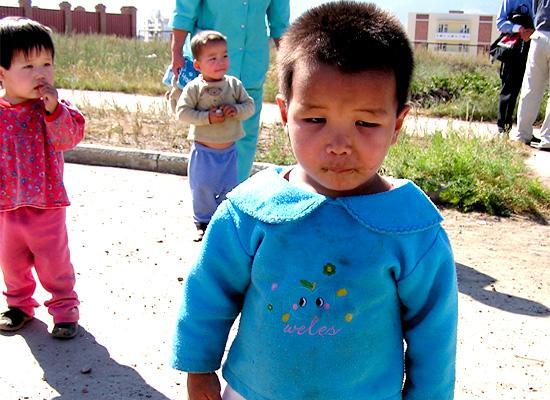 Orphanage kid